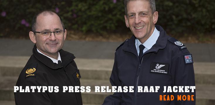 PLATYPUS PRESS RELEASE RAAF JACKET
