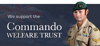 We support the Commando Welfare Trust